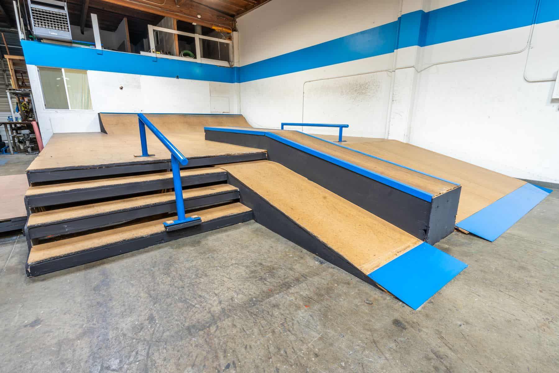 Rob Skate - San Leandro Private Skatepark 10
