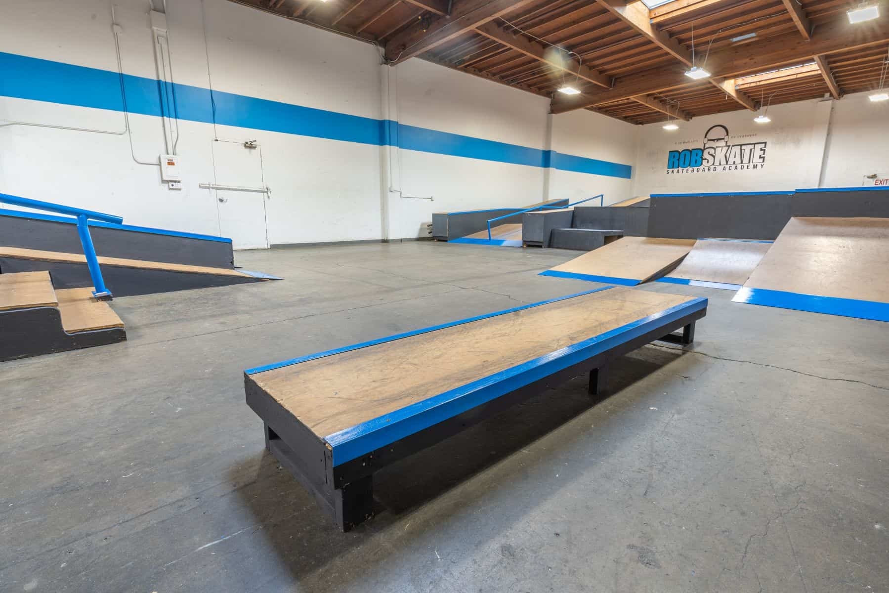 Rob Skate - San Leandro Private Skatepark 13
