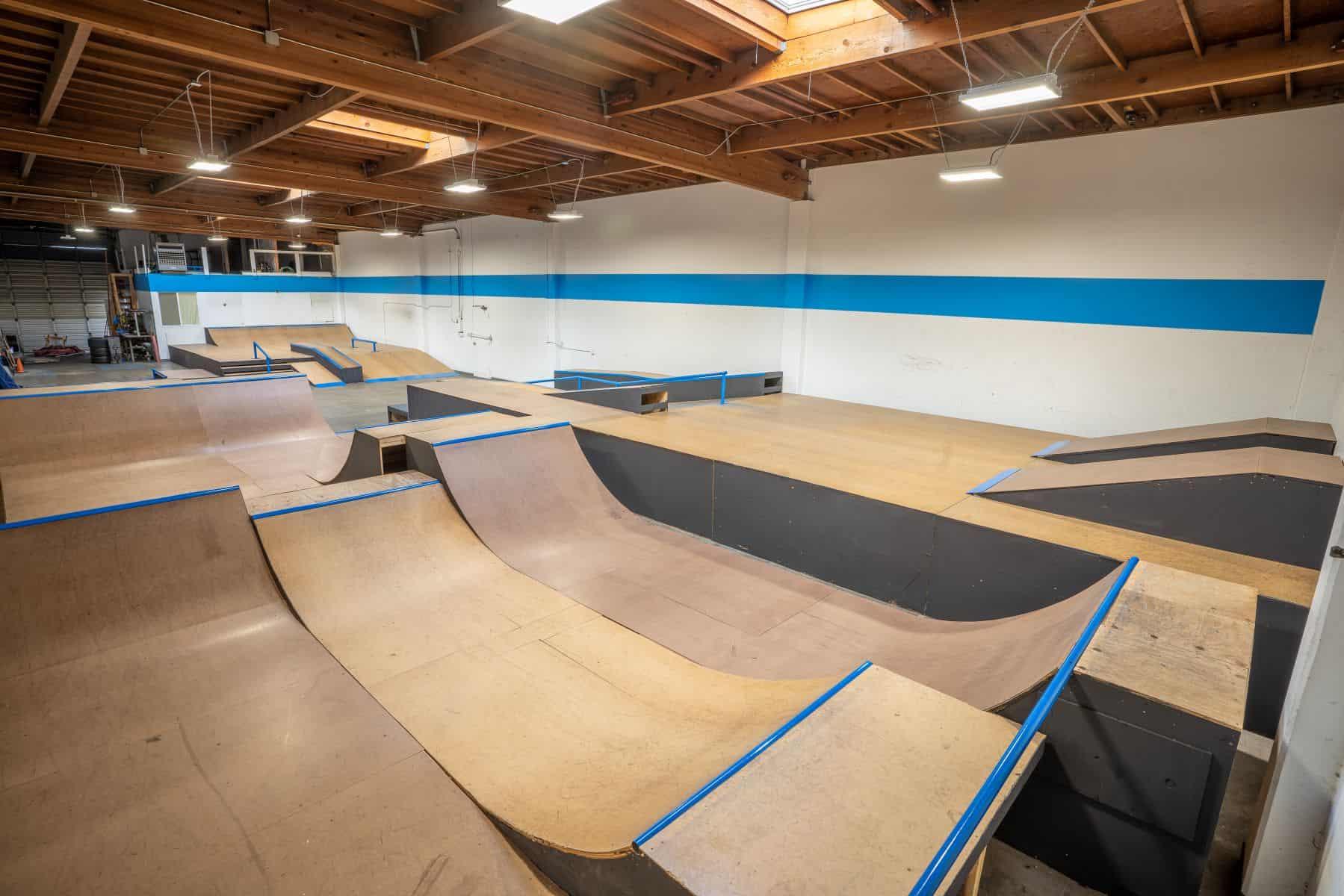 Rob Skate - San Leandro Private Skatepark 14