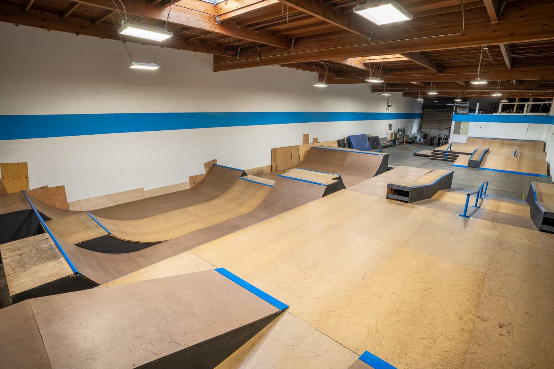 Rob Skate - San Leandro Private Skatepark 15