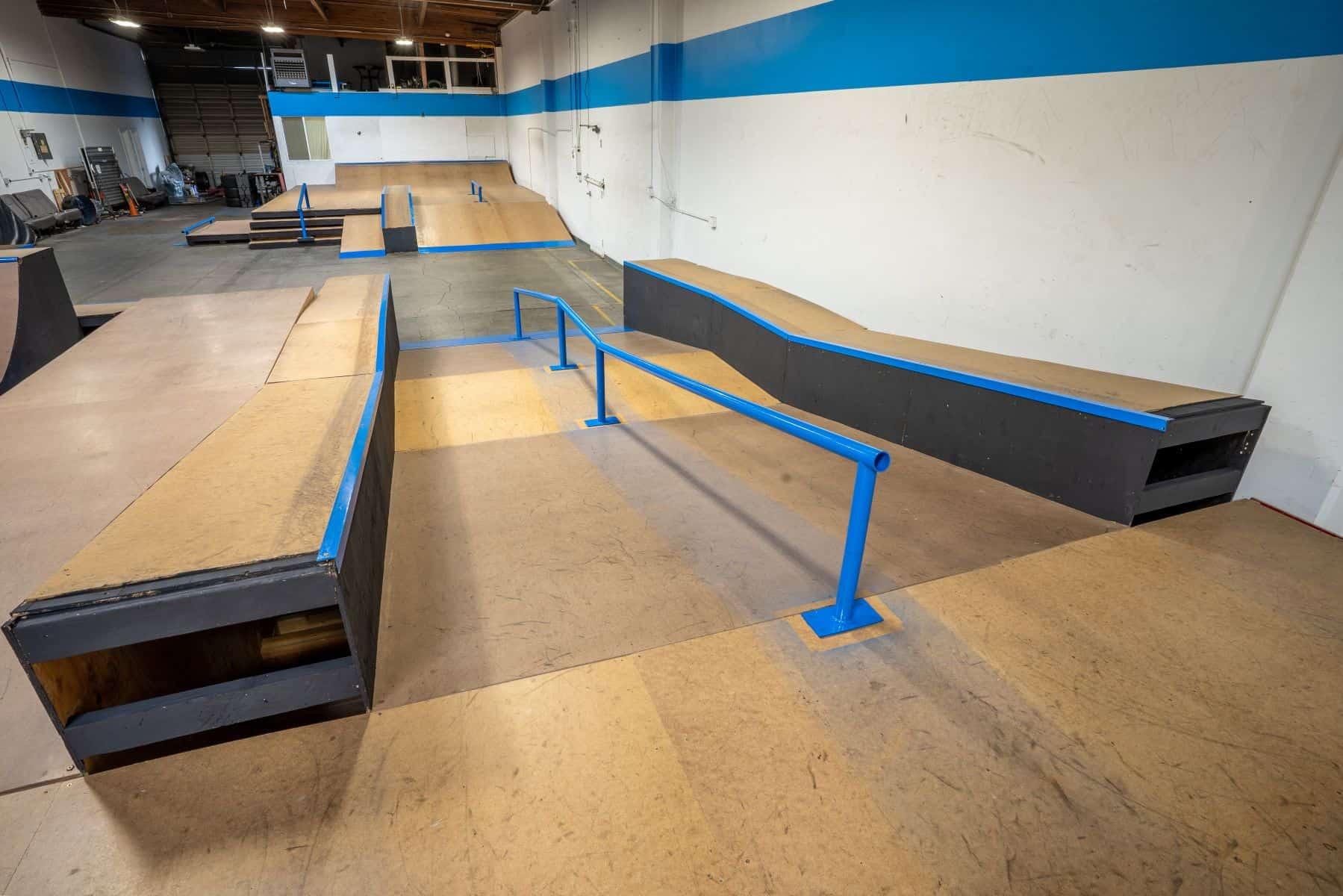 Rob Skate - San Leandro Private Skatepark 16