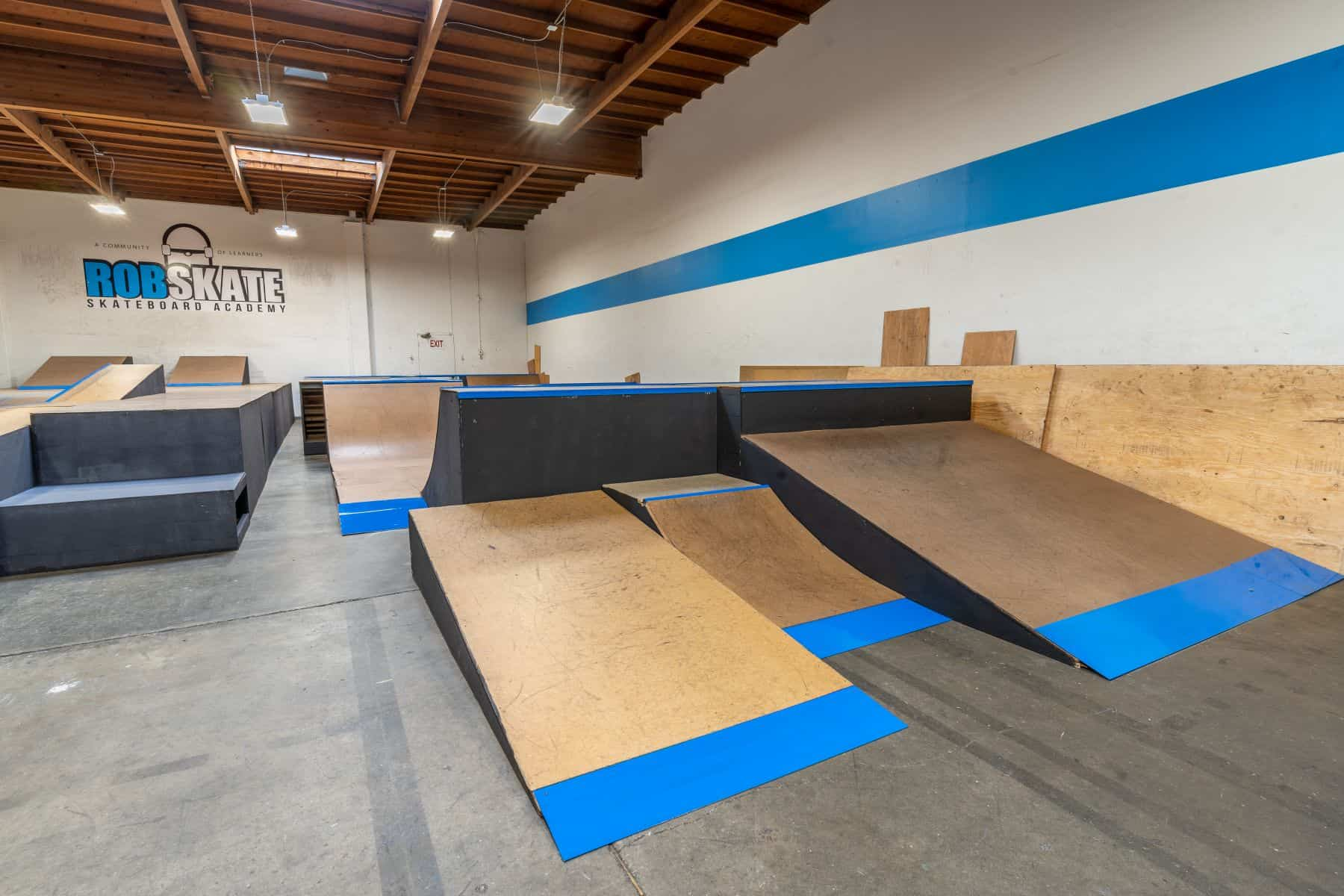 Rob Skate - San Leandro Private Skatepark 17