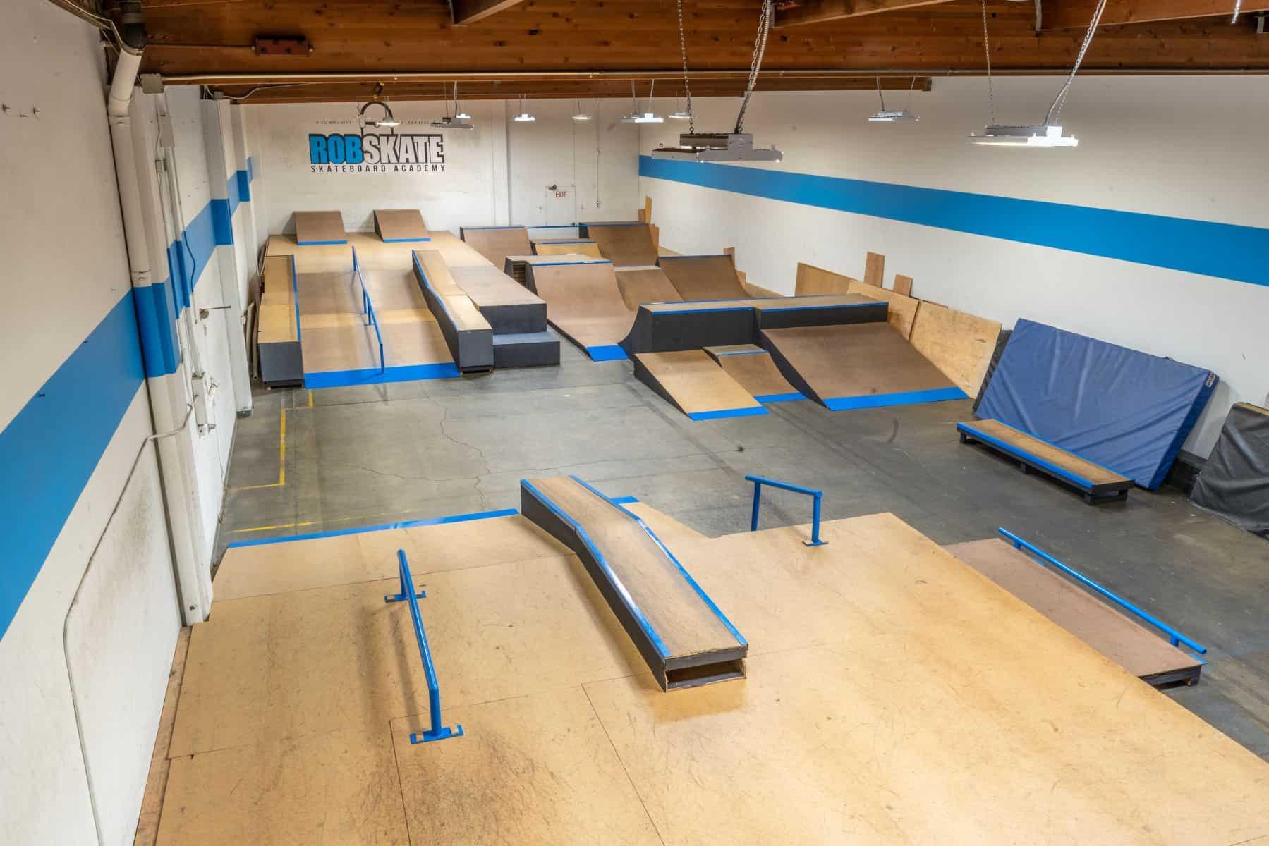 Rob Skate - San Leandro Private Skatepark 18