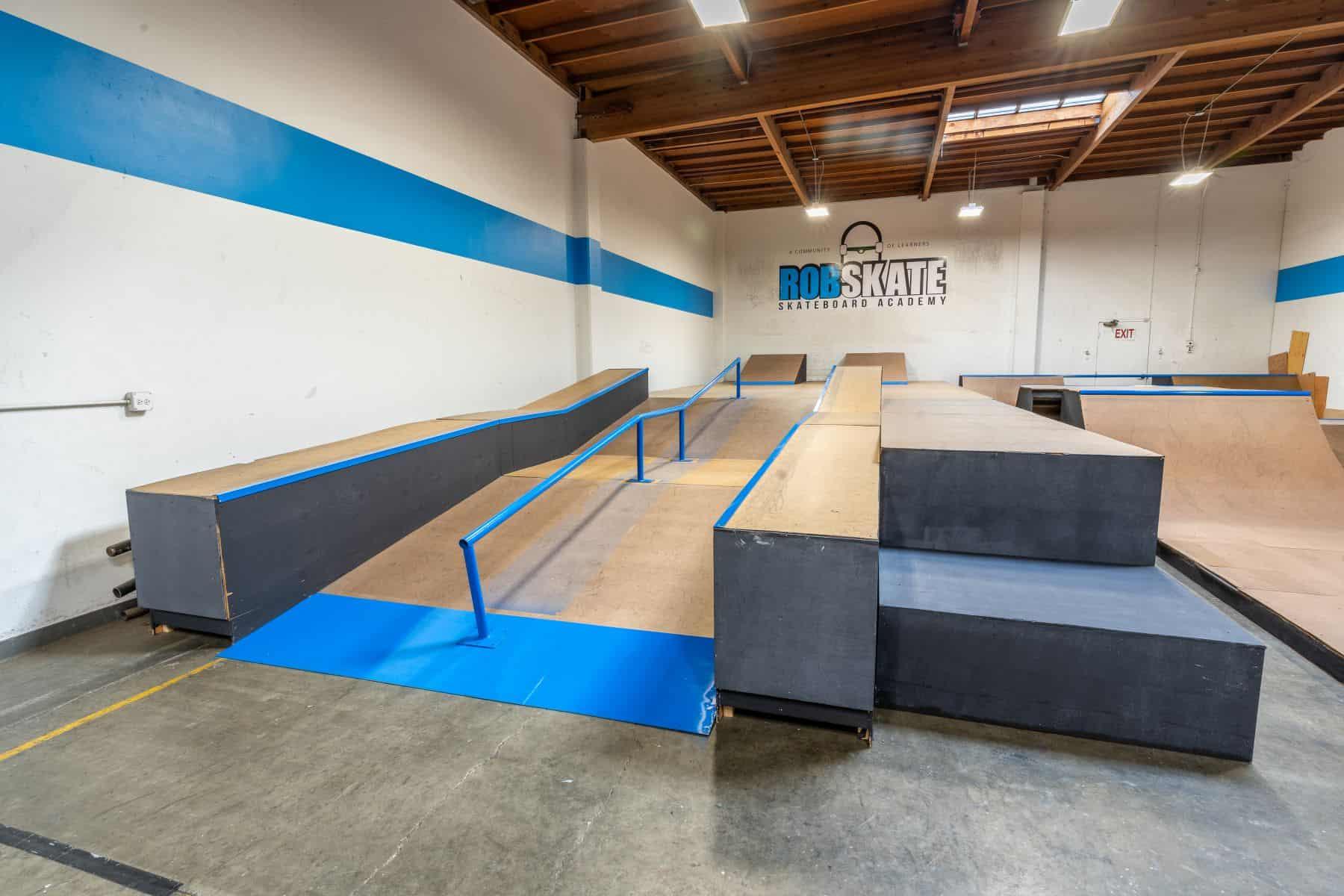 Rob Skate - San Leandro Private Skatepark 19