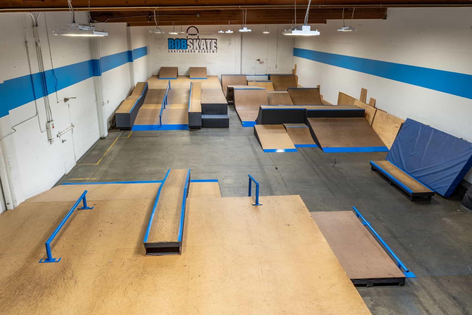 Rob Skate - San Leandro Private Skatepark 20