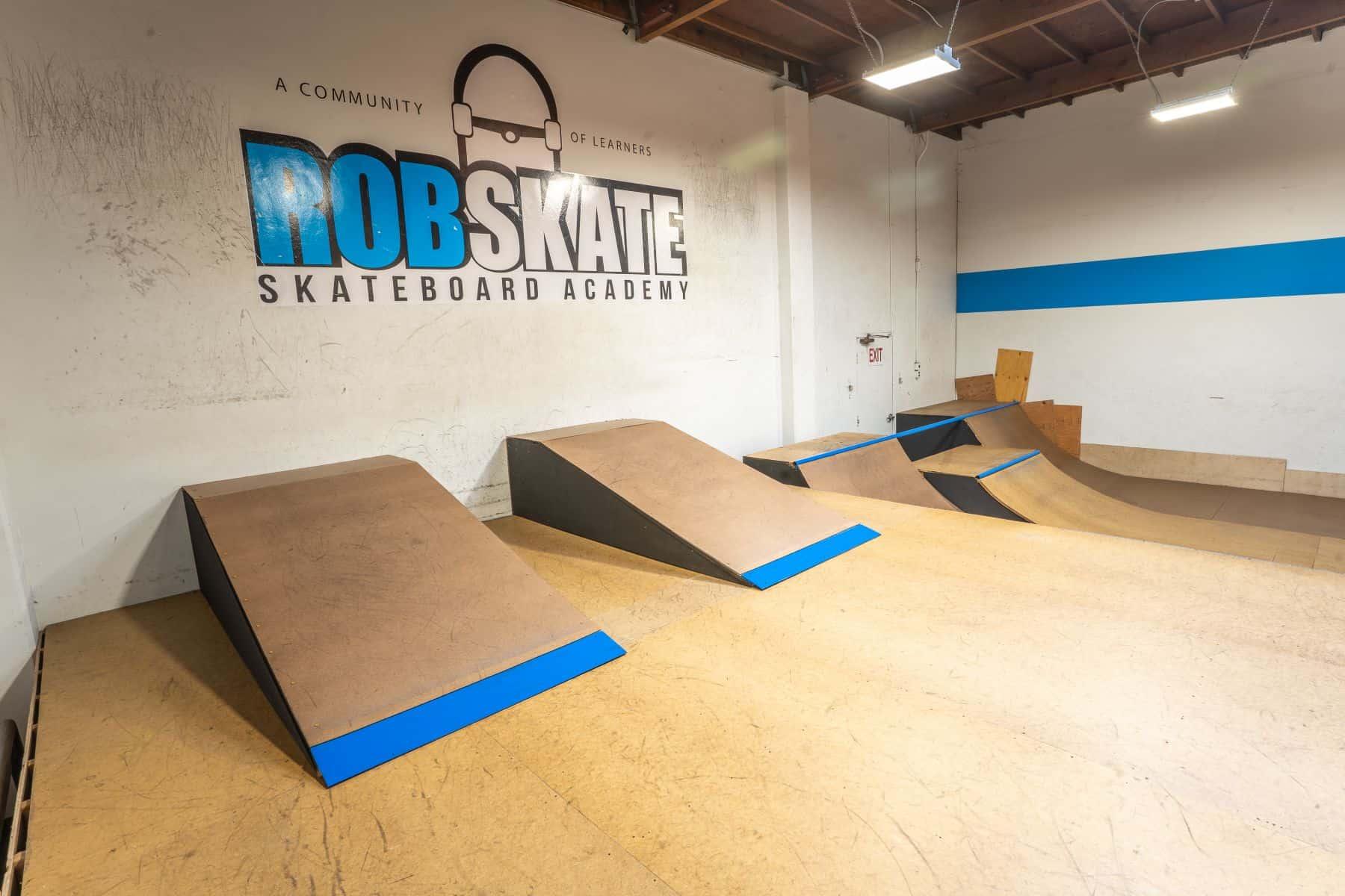 Rob Skate - San Leandro Private Skatepark 24