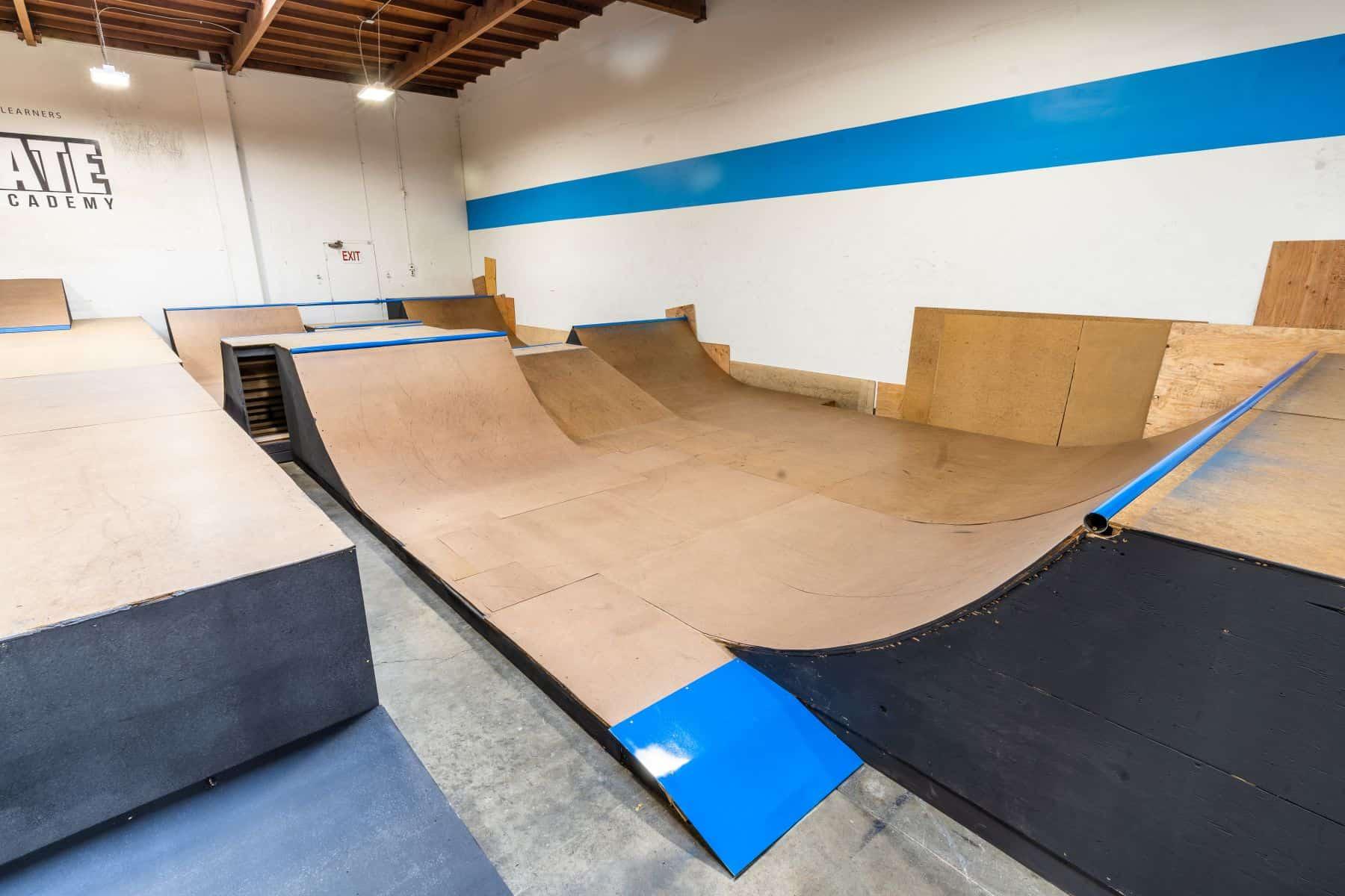 Rob Skate - San Leandro Private Skatepark 25