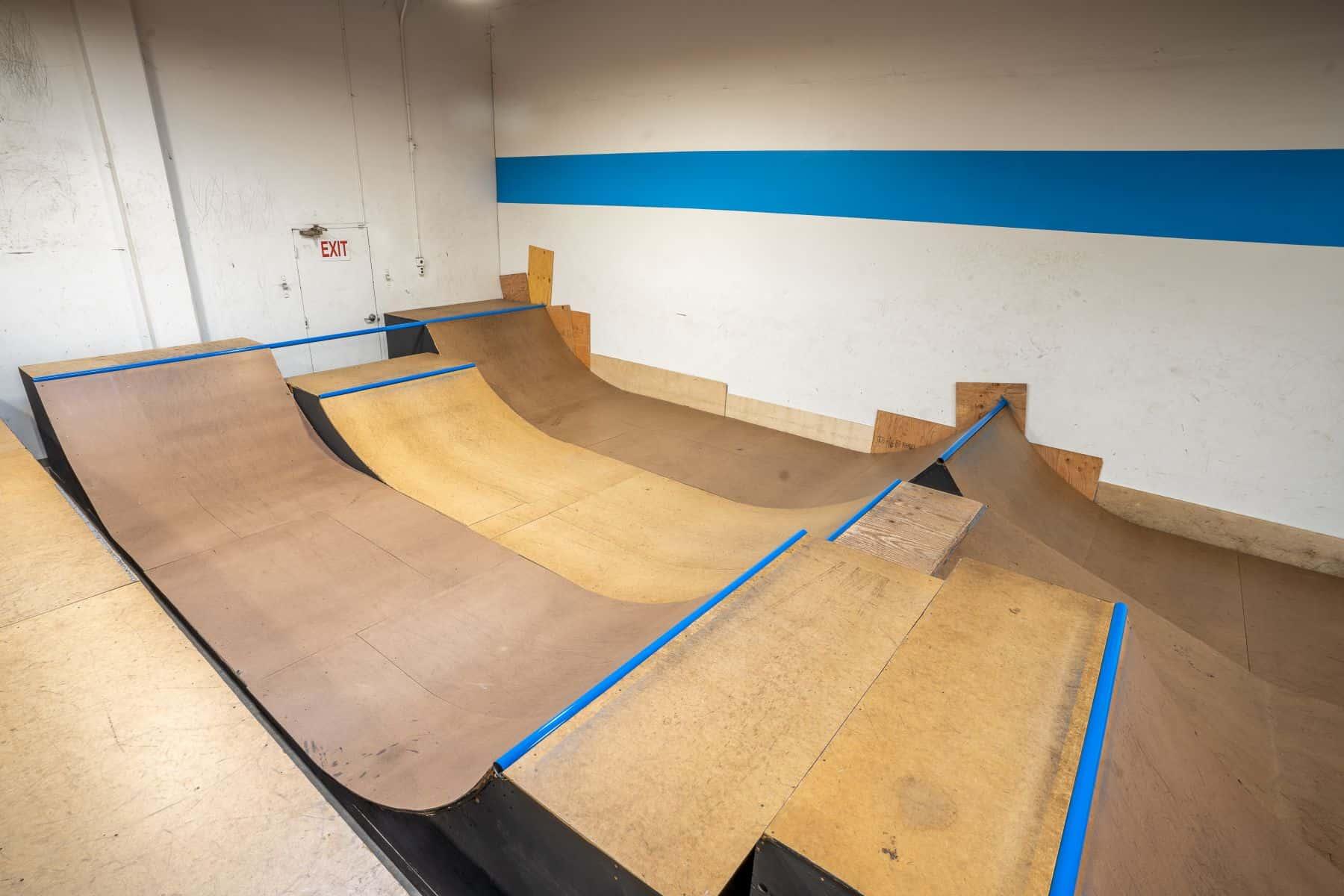 Rob Skate - San Leandro Private Skatepark 26