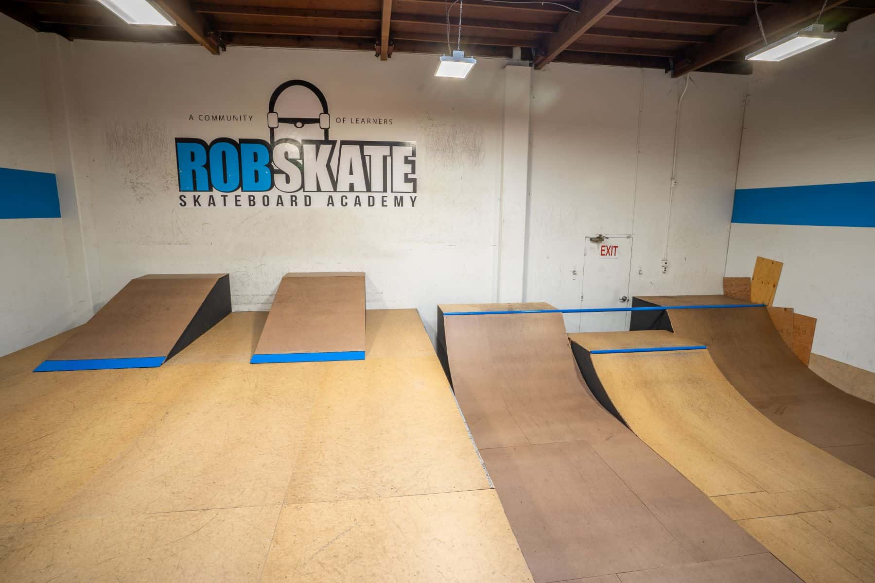Rob Skate - San Leandro Private Skatepark 27